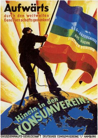 Aufwaerts Konsumverein 1920