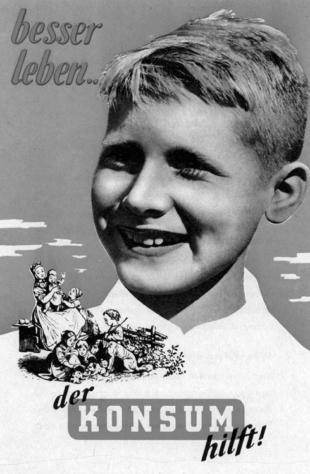 besser leben konsum hilft 1950