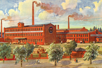 Eigenproduktion geg Fischwarenfabrik Altona Hamburg 1920