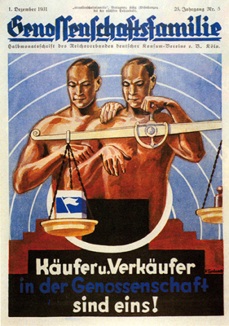 Genossenschaftsfamilie Zeitschrift 1931