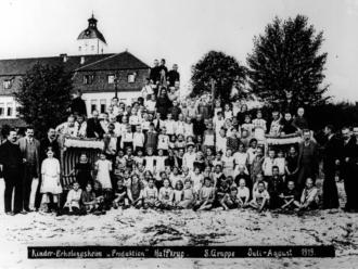 Kinder Erholungsheim Produktion 1919