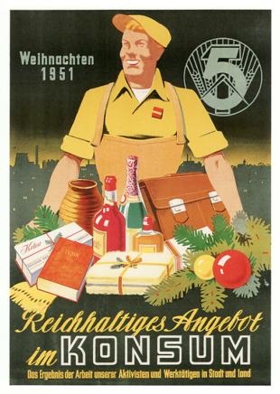 Konsum Weihnachten 1951