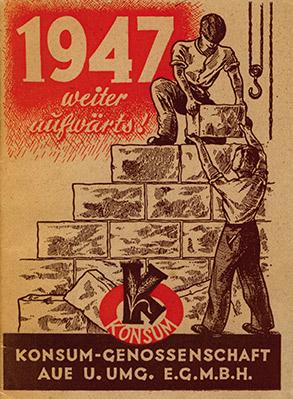 Konsumgenossenschaft Aufbau 1947