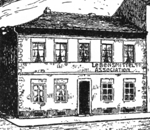 Lebensmittel Laden Assoziation Eilenburg 1850