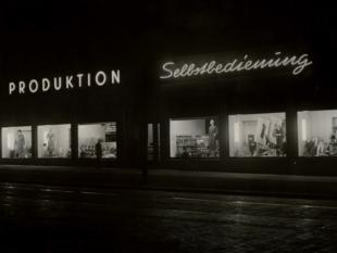 Produktion Selbstbedienung 1949