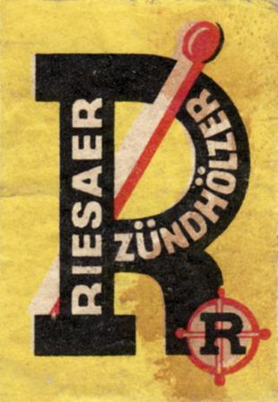Riesaer Zündhölzer 1950