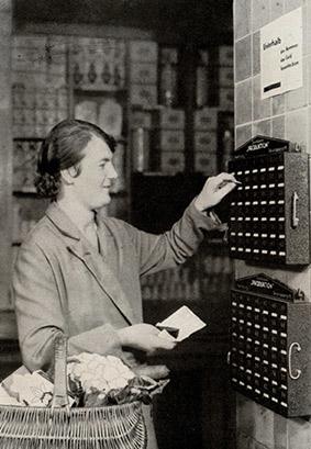 Sparen Verteilungsstelle 1931