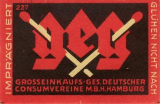 Streichhözer Consumvereine 1920