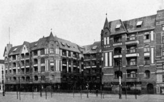 Wohnblock der Produktion 1910