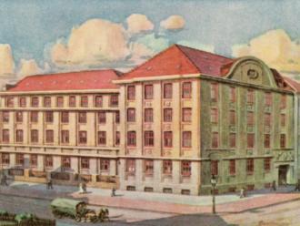 Zigarrenfabrik Hamburg 1920