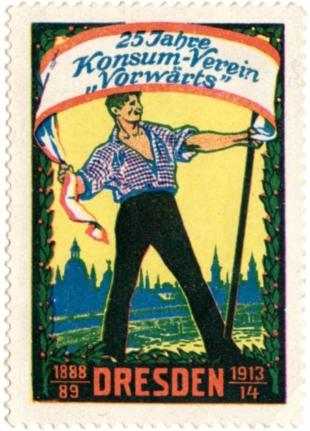 25 Jahre Consumverein Dresden 1913