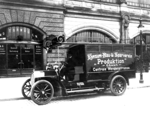 Consumverein Produktion 1920