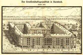 Genossenschaftsgrundstück Barmbeck 1905