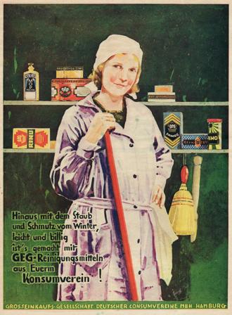 Grosseinkauf Consumvereine 1920