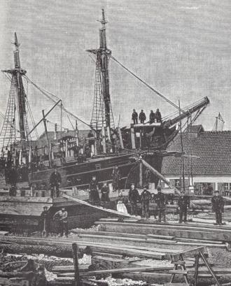 Holzschiffbau Schiffszimmergenossenschaft 1910