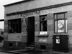 Konsumladen Neueröffnung 1947