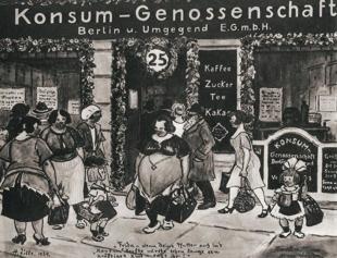 Konsum Genossenschaft Berlin 1930