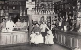Konsumladen Hamburg 1908
