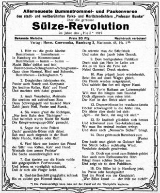 Sülze Revolution 1919