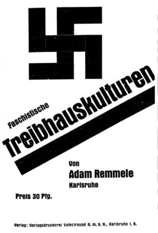 Treibhauskulturen 1930