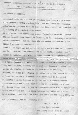 Verbrauchergenossenschaft 1935